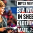 Don't Be Deceived Joyce Meyer is a Wolf in Sheep Clothing!